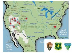 LCF map